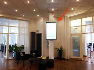 Receptionen på Vejlsøhus